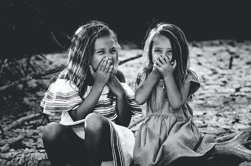 Lebensfrohe Mädchen - Von Kindern lernen