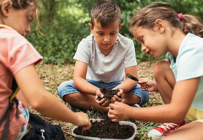 Urban Gardening - Kinder Gärtnern in der Stadt