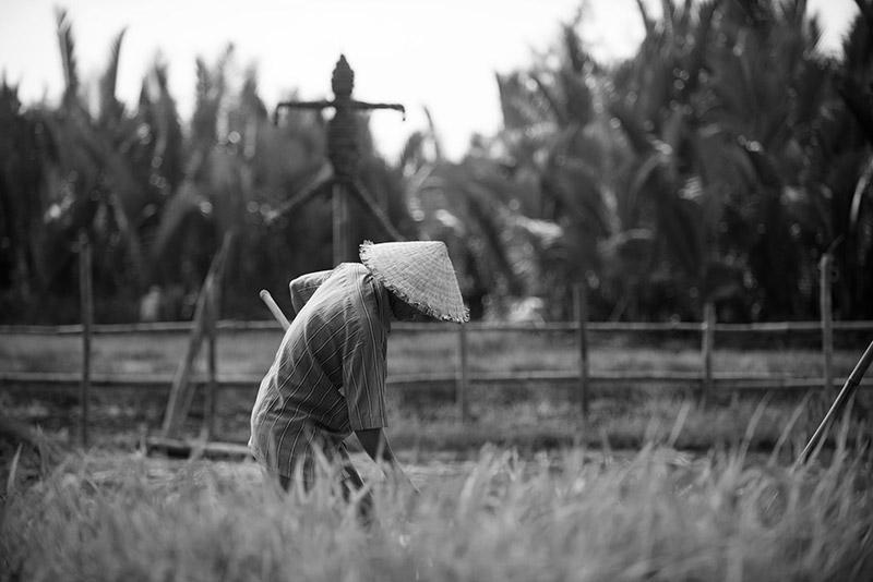 Umweltflüchtlinge sind oft Menschen mit Landwirtschaft