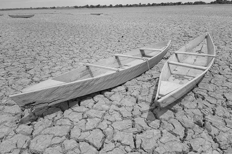 Klimaflüchtlinge als Folge von Dürreperioden