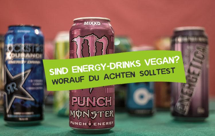 Sind Taurin und Energy-Drinks vegan?