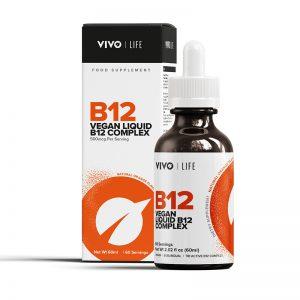 Vitamin B12 Vegan Nahrungsergänzungsmittel Tropfen