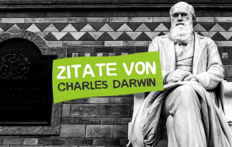 Charles Darwin Zitate, Weisheiten und Sprüche