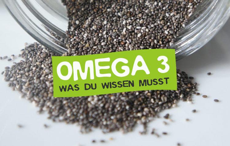 Omega 3 Nährstoff Fettsäure Steckbrief