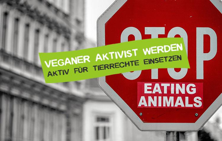 Veganer Aktivist werden Tipps