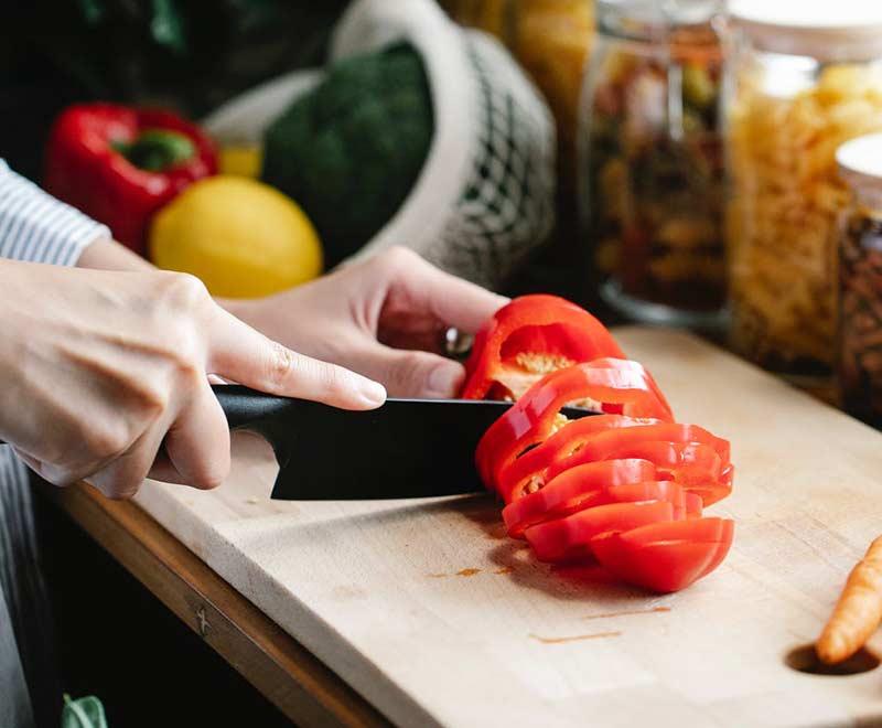 Paprika ist ein Lebensmittel mit viel Vitamin A