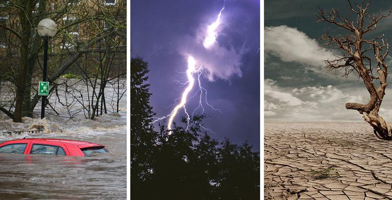 Extremwetter als Folge des Klimawandels