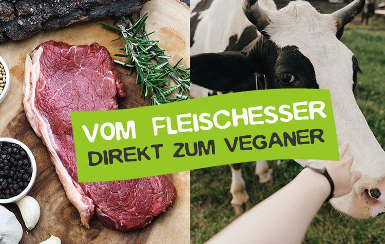 Umstieg vom Fleischesser zum Veganer