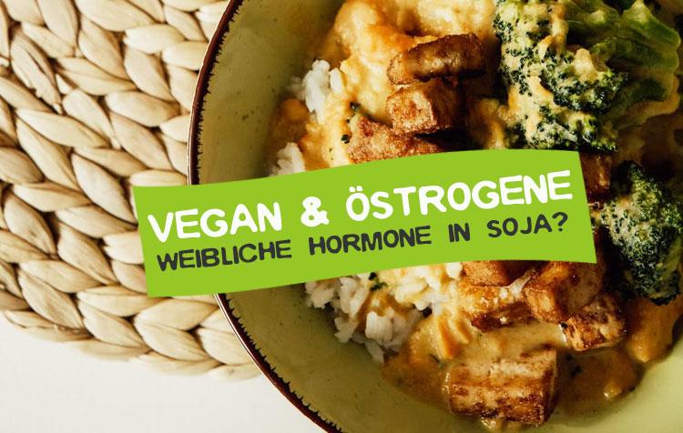 Veganismus und Östrogene - Hormone in Soja und Co?