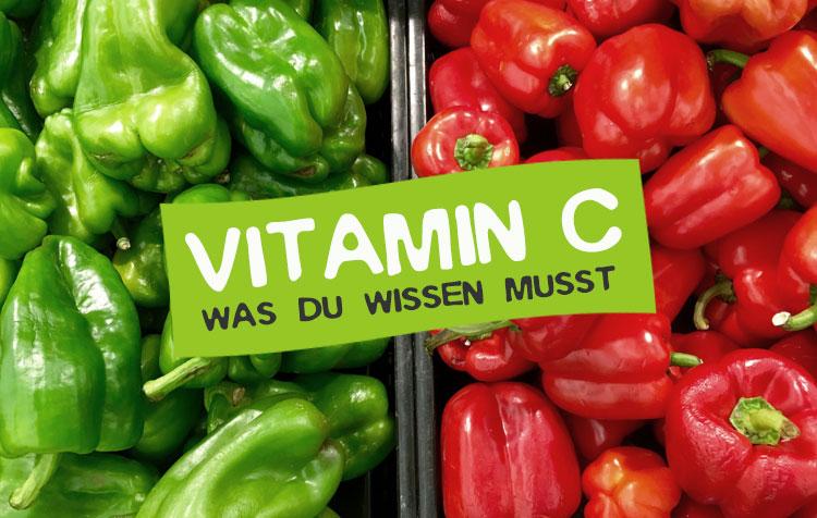 Vitamin C Steckbrief, Tagesbedarf und mehr