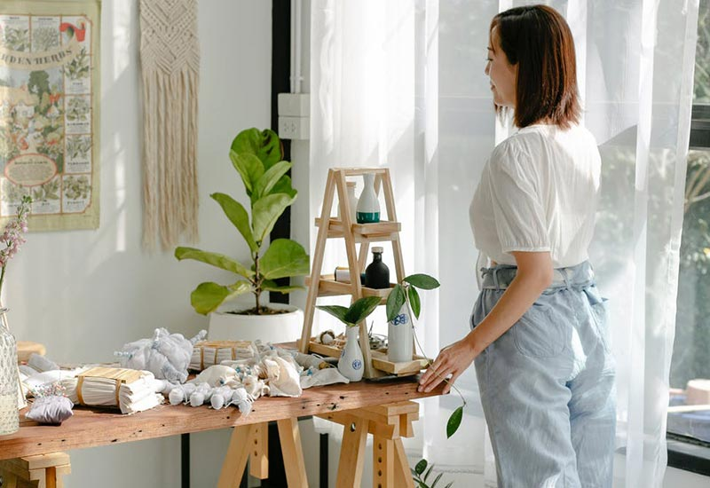 Baumwoll-Textilien selbst reparieren und pflegen