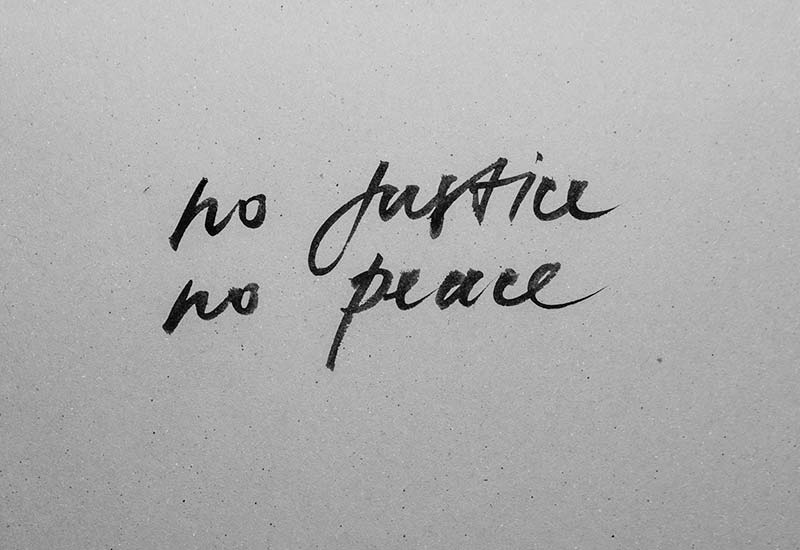 No justice no peace - Einfluss veganer Lebensweise