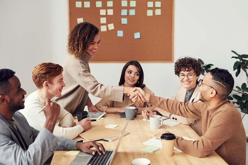 Kommunikation eines nachhaltigen Meetings