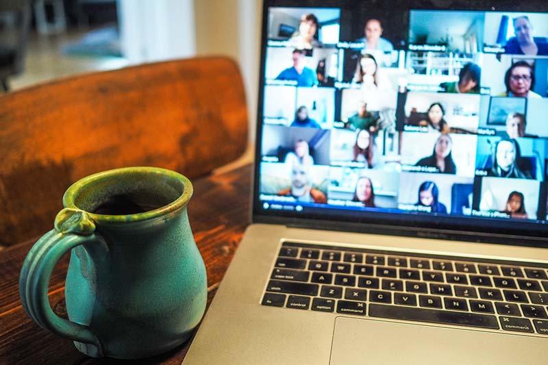 Online-Konferenz ist entspannter und nachhaltiger