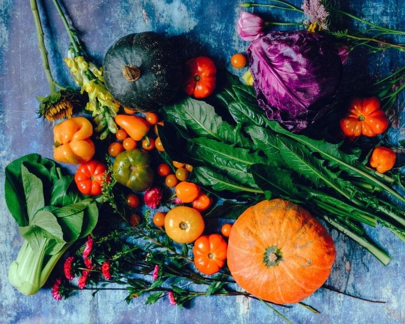 Vegan Tipp frisches Gemüse