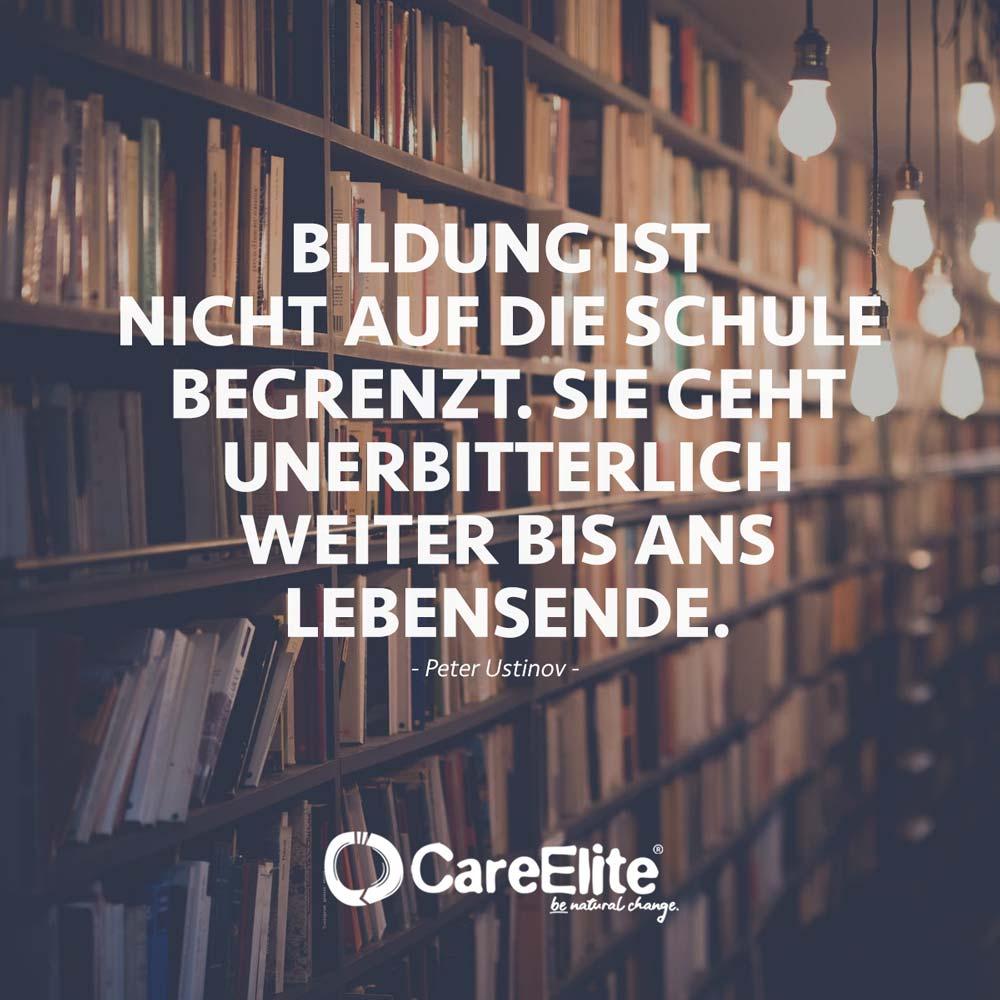 Bildung Zitate und Sprüche über Wissen