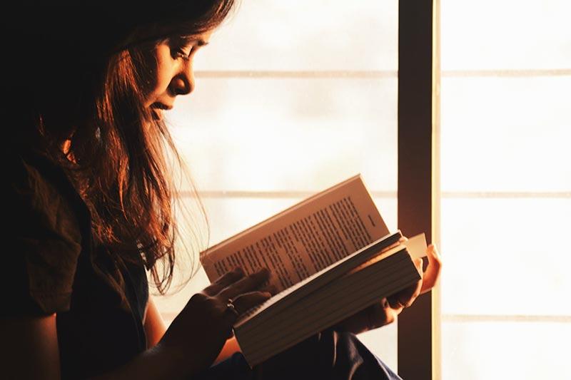 Buch in Fremdsprache lesen