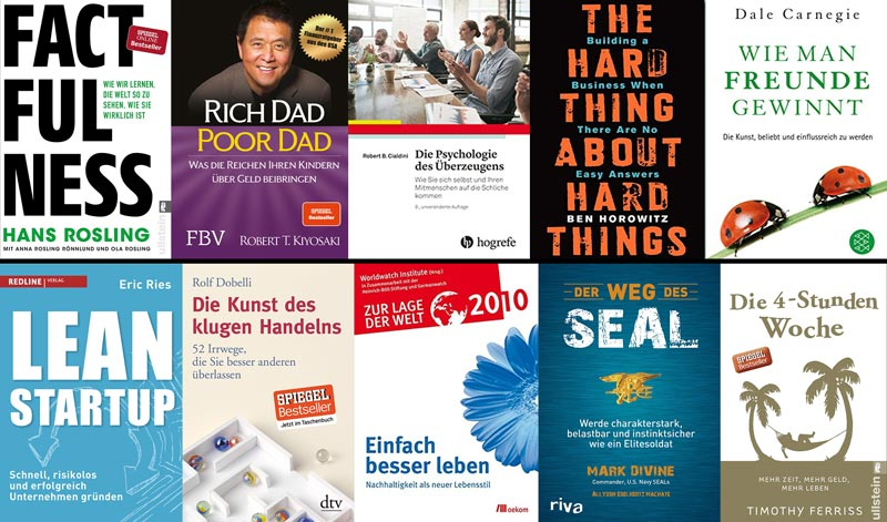 Business Bücher für Unternehmer Tipps