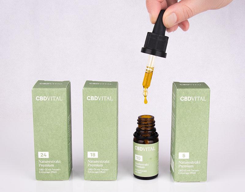 Produkte mit Cannabidiol im Überblick