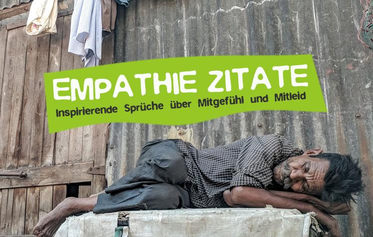 Empathie Zitate - Sprüche über Mitgefühl