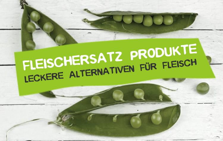 Fleischersatz Produkte als Alternative für Fleisch
