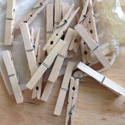 Nachhaltige Wäscheklammern aus Holz online kaufen
