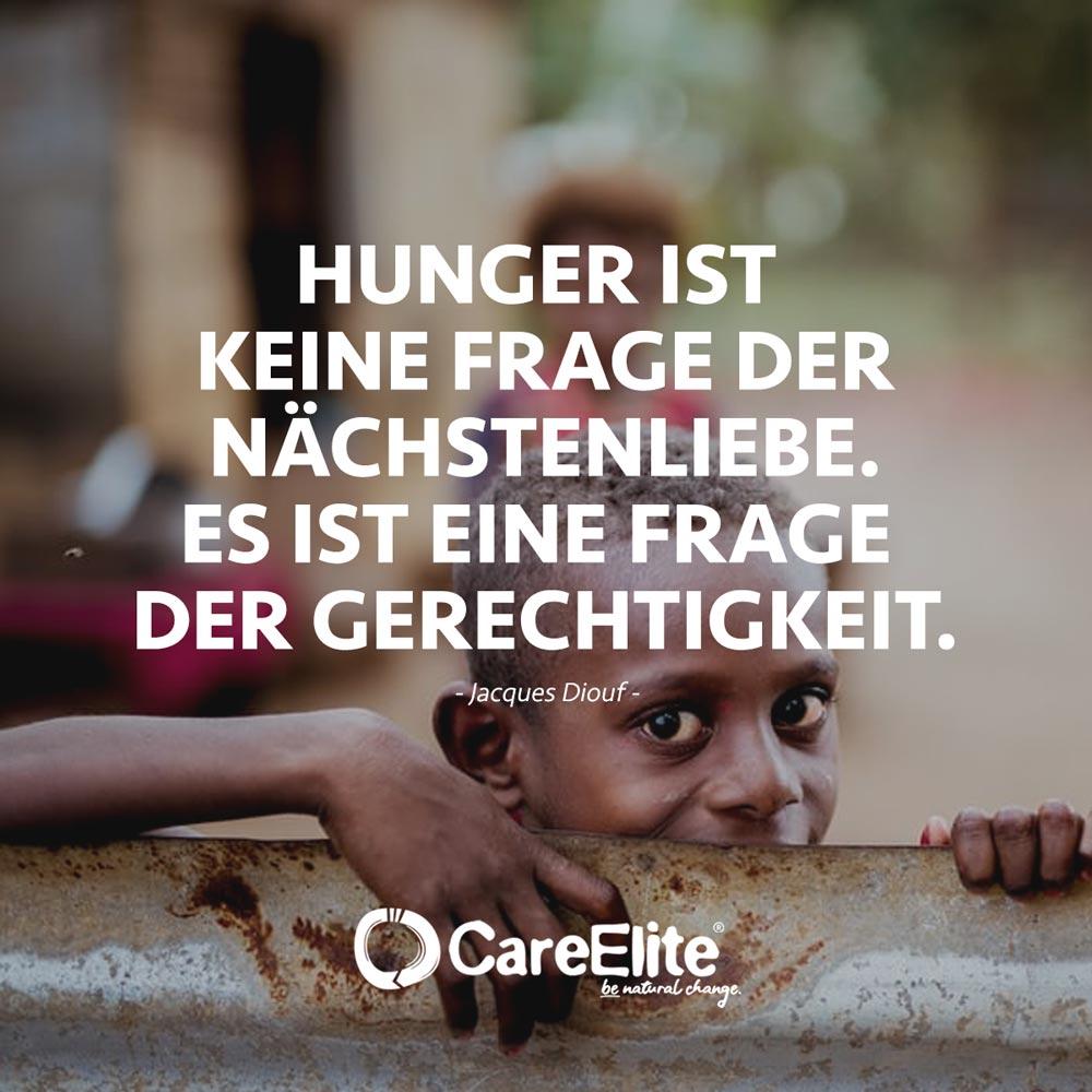 Hungersnot Zitat Nächstenliebe