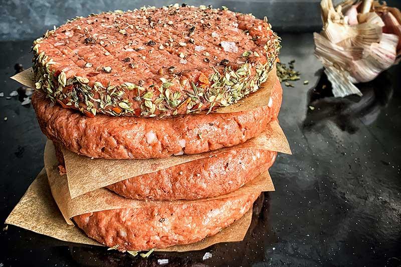 Veganes Burgerfleisch - Ich liebe Fleisch Argument