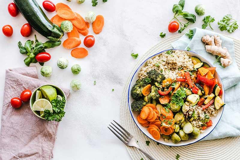 Klimafreundliches, nachhaltiges Mittagessen im Homeoffice