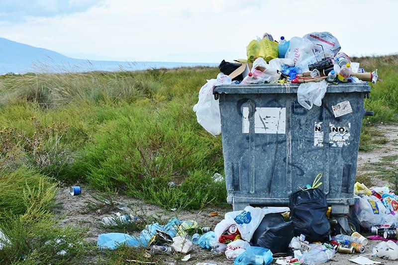 Müll auf dem Campingplatz vermeiden