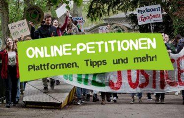 Online Petitionen Plattformen und Tipps