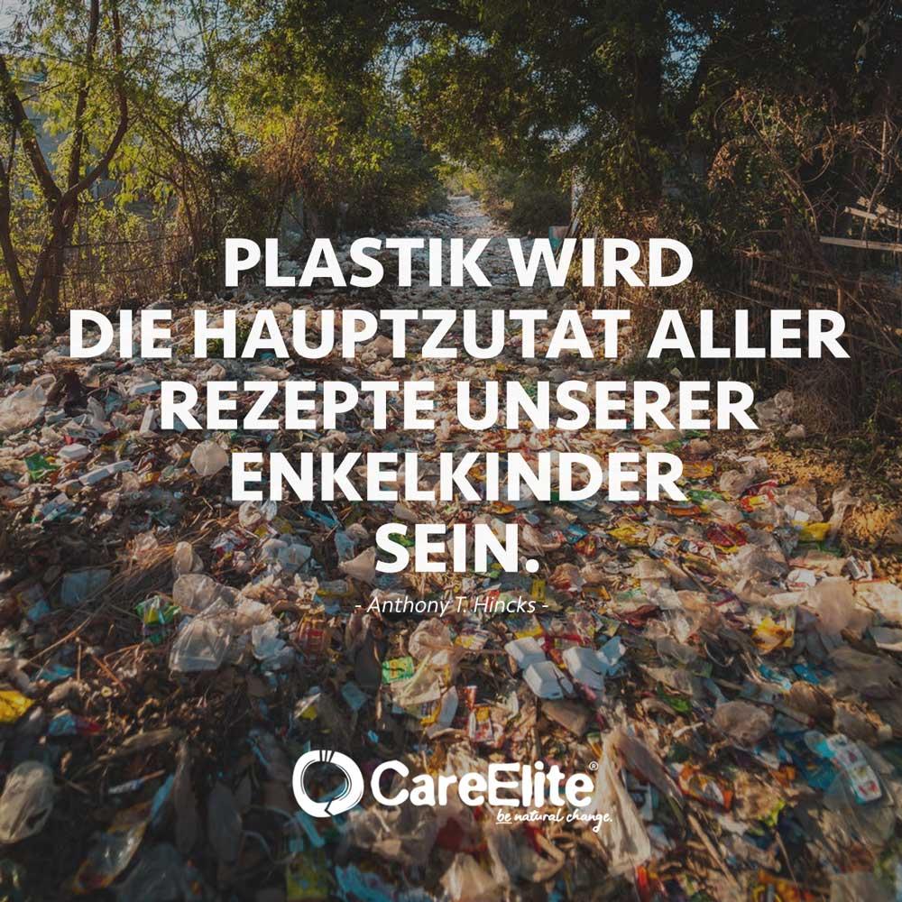 Plastik Hauptzutat Spruch und Zitat