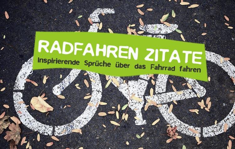 Zitate über das Radfahren