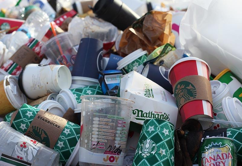 Zero Waste aufgrund des schweren Recyclings