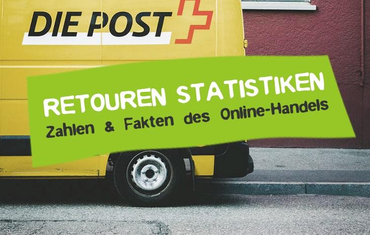 Retouren Statistik für Rücksendungen im Online-Handel