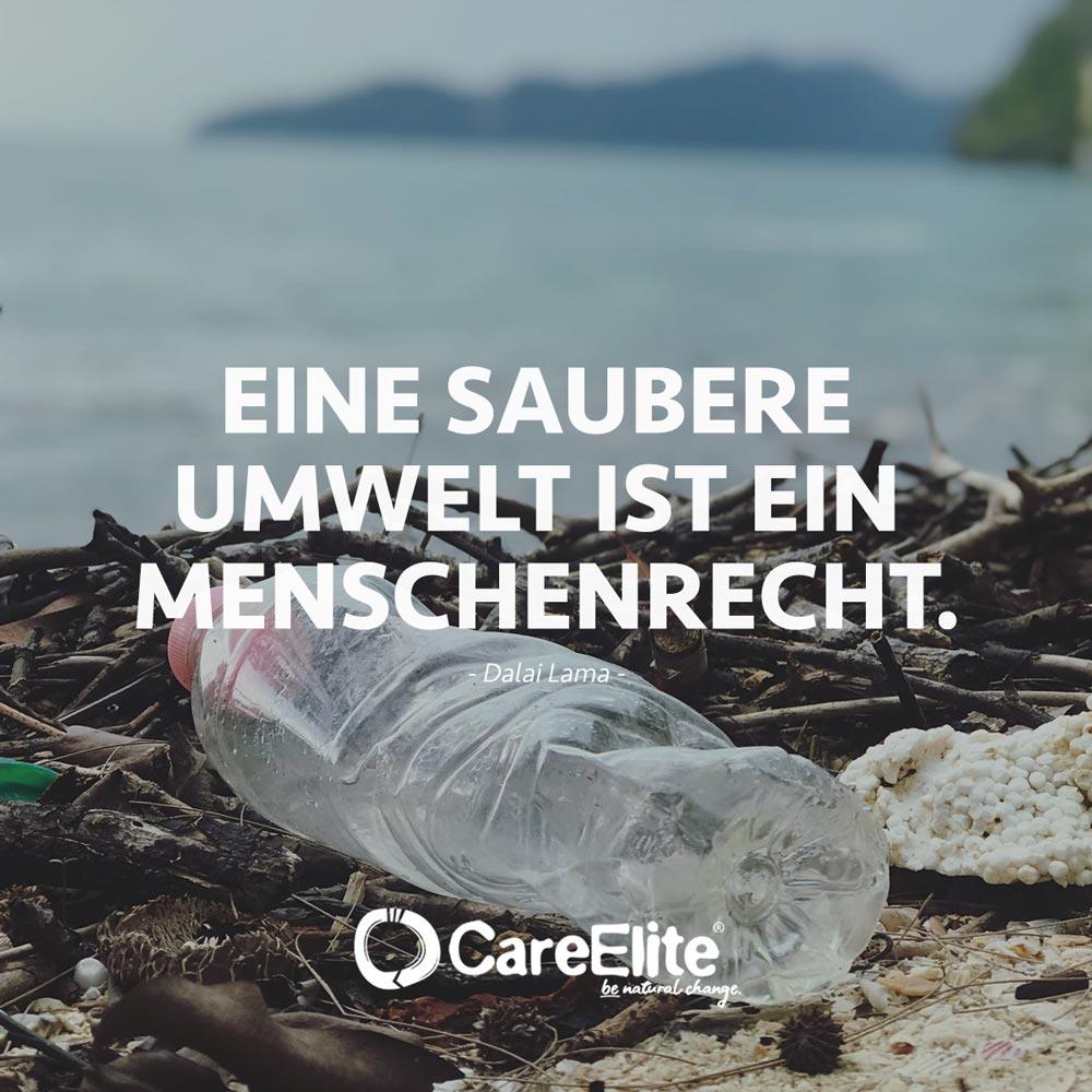Saubere Umwelt Menschenrecht Zitat