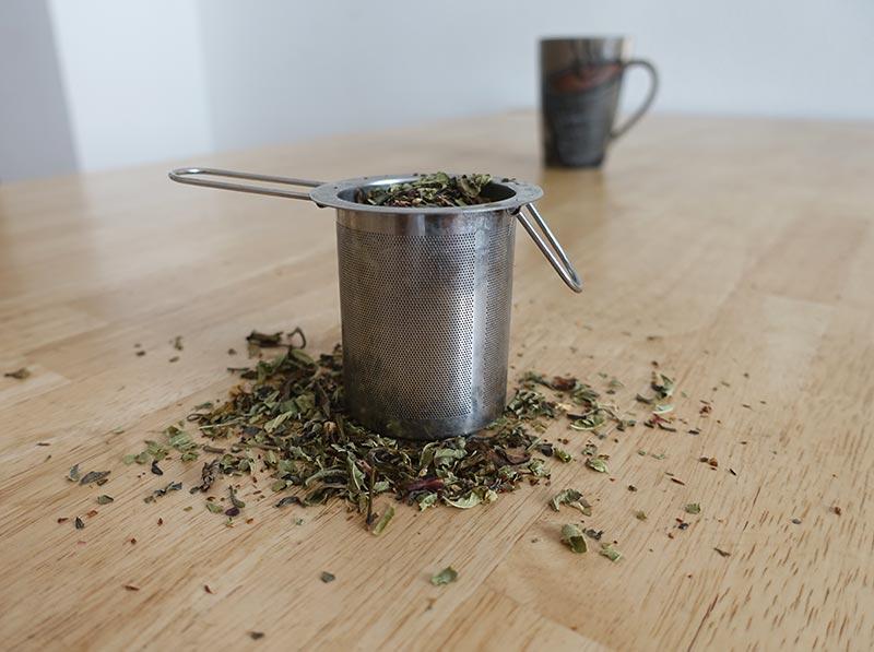 Teefilter aus Edelstahl für losen Tee