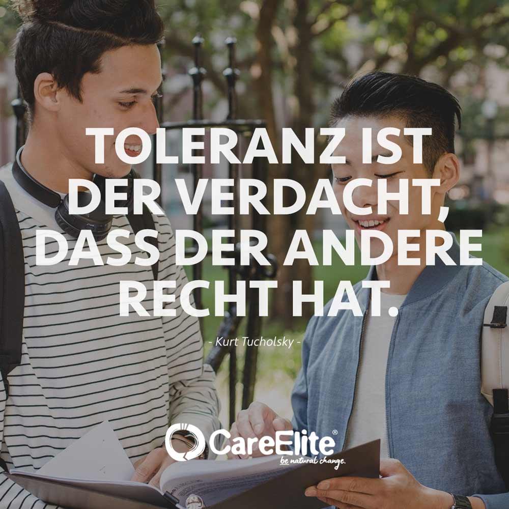 Tucholsky Zitat Toleranz Verdacht Recht