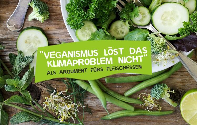 Veganismus bringt nichts gegen den Klimawandel