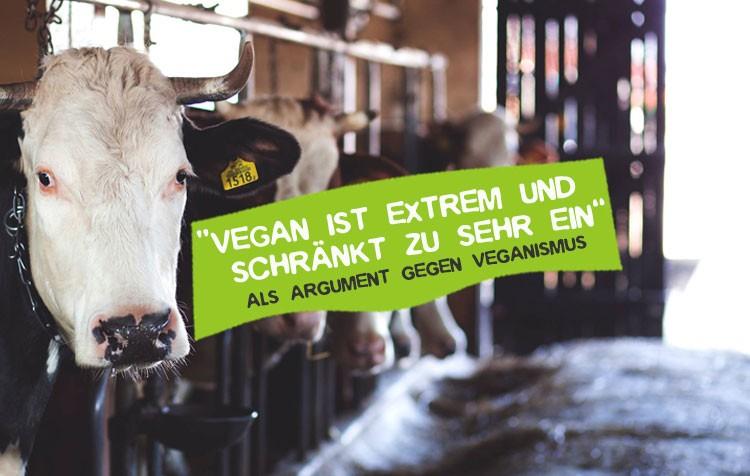 Vegan ist zu extrem und einschränkend