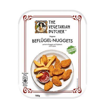Pflanzliche Chicken Nuggets vegan