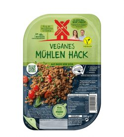 Veganes Mühlen Hack Alternative
