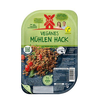 Veganes Mühlen Hack Alternative