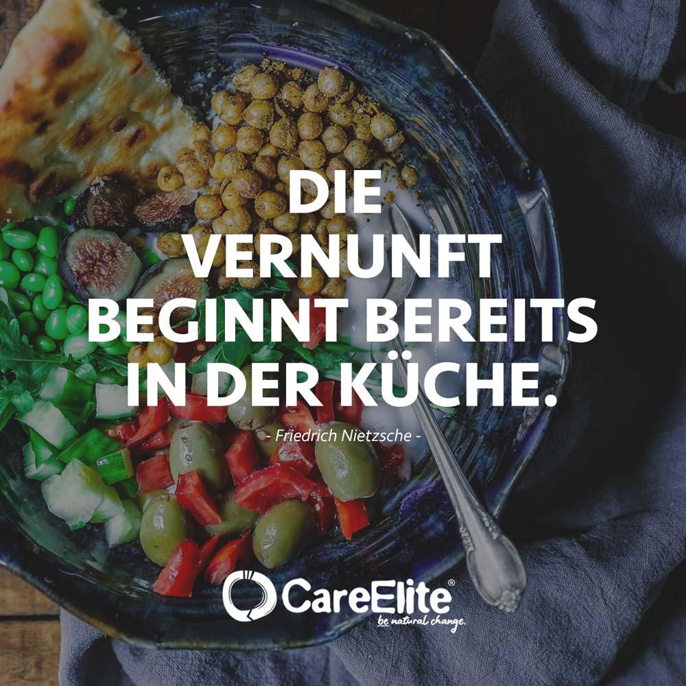 Vernunft Küche Zitat - Umweltschutz und Nachhaltigkeit