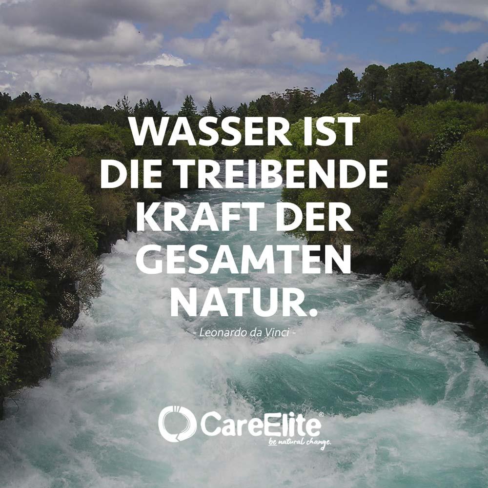 Wasser Kraft der Natur Zitate