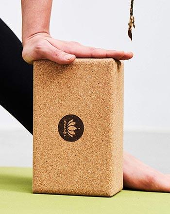 Plastikfreies Weihnachtsgeschenk Yogablock