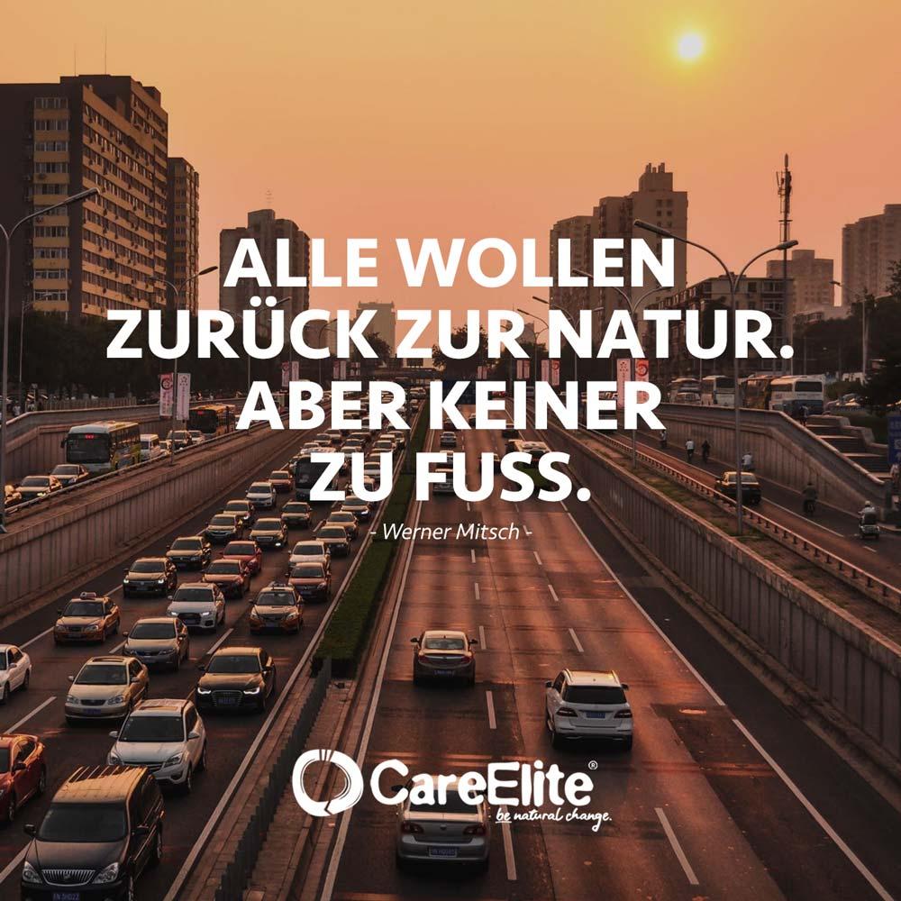 Zurück zur Natur Zitat Klima Verkehr